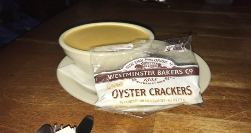 Today's package of         Westminster Crackers