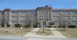 Elm Street School, originally built as a high school in 1923, currently houses more than 500 elementary school students