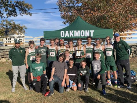 Unforgettable season for Oakmonts Boys' Cross Country team- as they capture league title