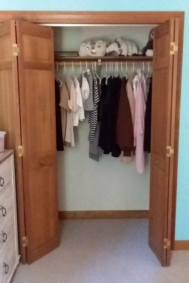 The result of absolute boredom: a Rapunzel's closet during quarantine.