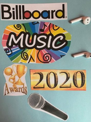 BBMA's promo and McKinley Chabot's airpods, which she uses to listen to her favorite top hits.