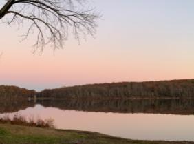 Sunset on Sunday, November 8th