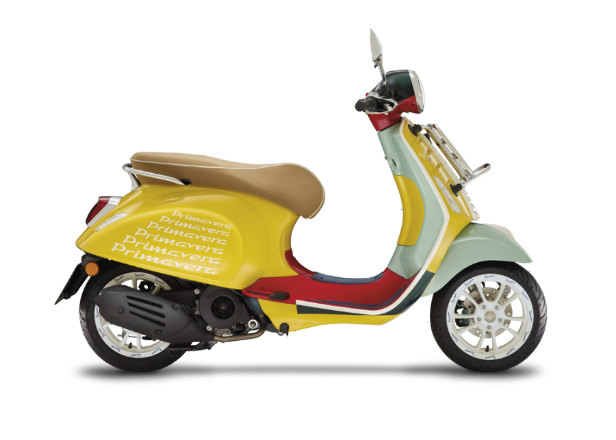 Picture of the Vespa and Sean Wotherspoon collaboration- taken from Vespa.com