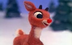How did Rudolph get his red nose?