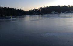 The Lake Freezing Over