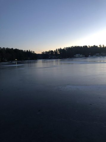 The Lake Freezing Over