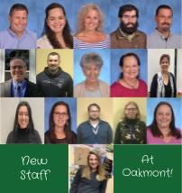 Oakmont´s New Teachers and Administration