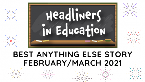 Headliners in Education February/March Contest Winners!