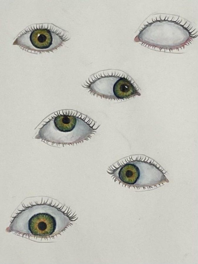 Sketchbook: Eyes