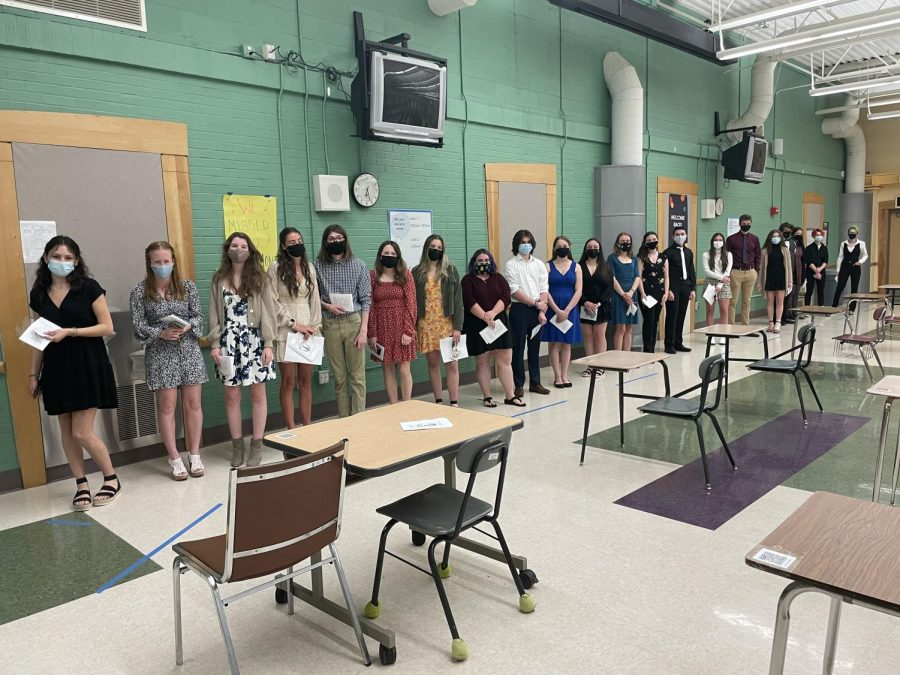 The National Honor Society Inducts the Class of 2022