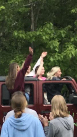 Senior Parade rolls with excitement