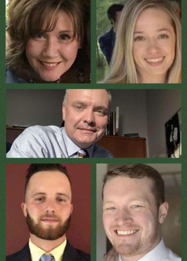 New 2021-2022 Oakmont staff