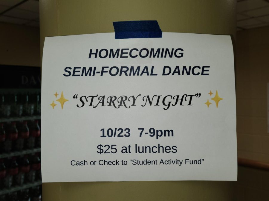 Dont forget to buy your homecoming tickets!