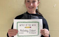 Creative Writer of the Week: McKinley Chabot